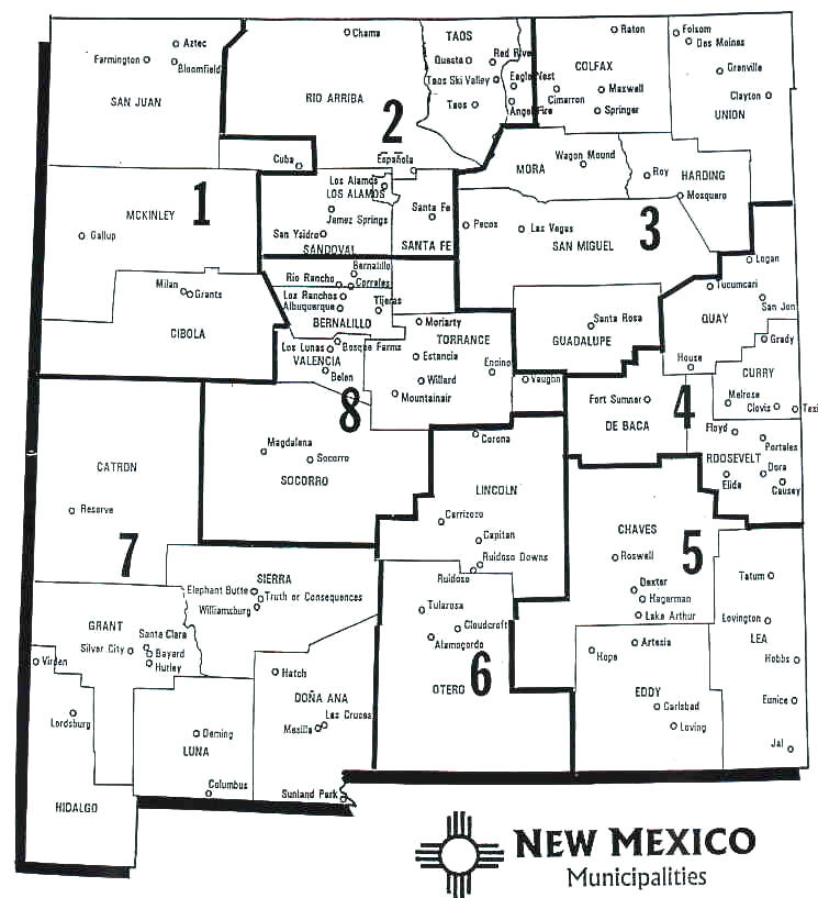 Maps Eddy County NM - Nm map