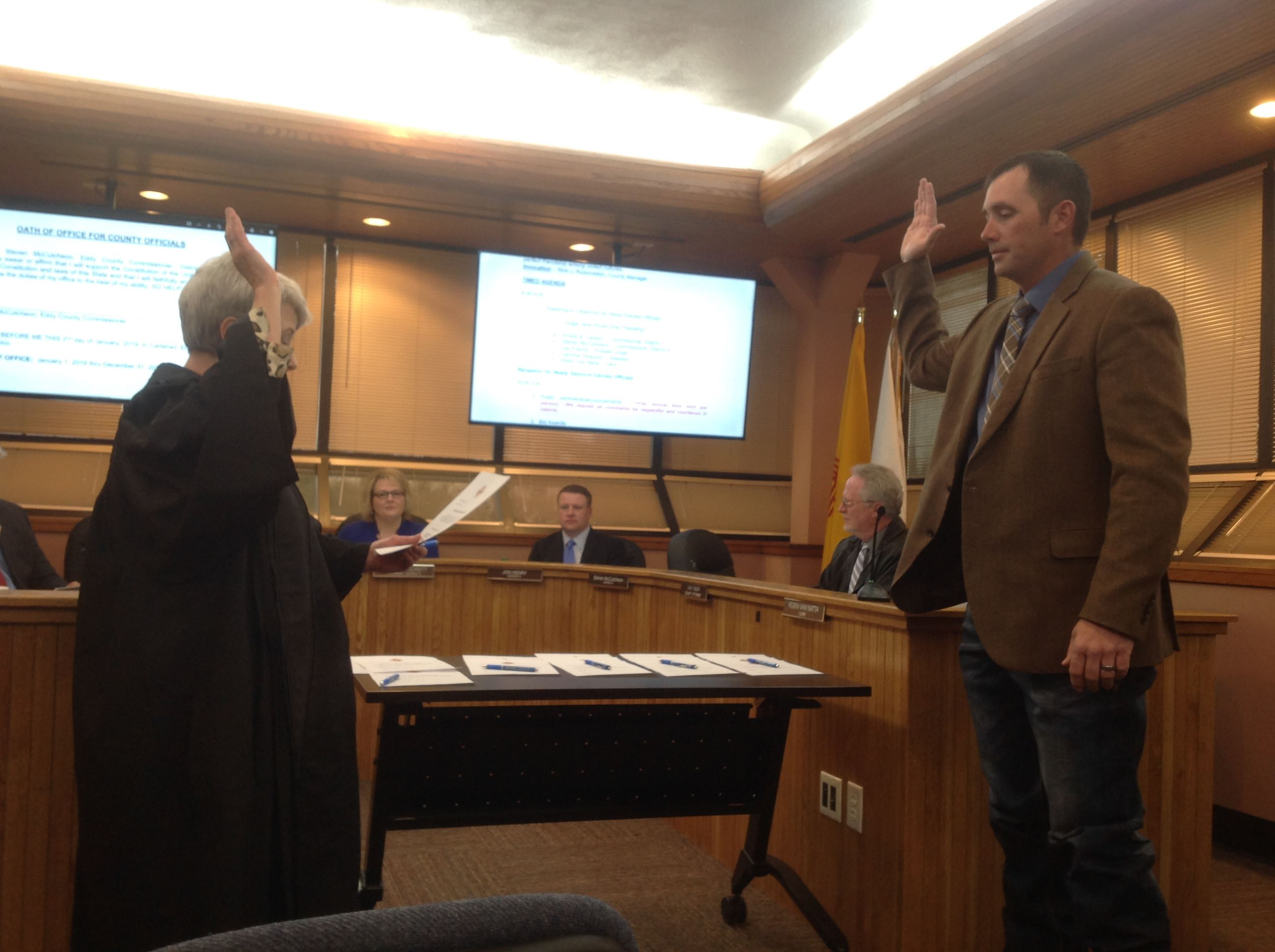 Steven McCutcheon Swearing In - 010219