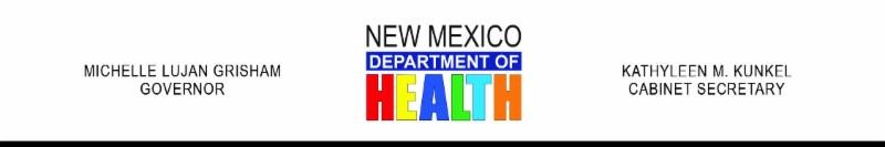 NM Dept of Health Letterhead with colorful words Health (JPG)