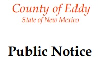 Public Notice Title without Eddy County Logo  (JPG)