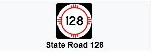 State Road 128 Graphic