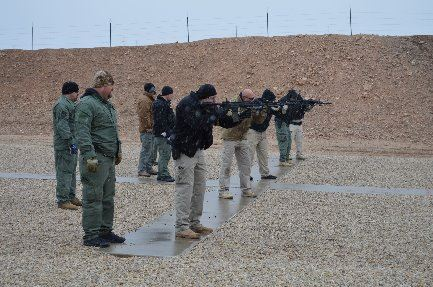 TRT at Shooting Range - smaller photo
